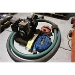 "Lot 14 - TRASH PUMP, BRIGGS & STRATTON 2"", 3.5 HP, w/hose"