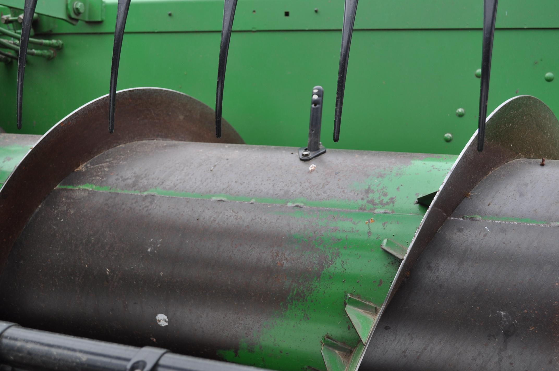 20' John Deere 920F grain head, pto shafts, rock guard, hyd fore/aft, SN 695865 - Image 12 of 12