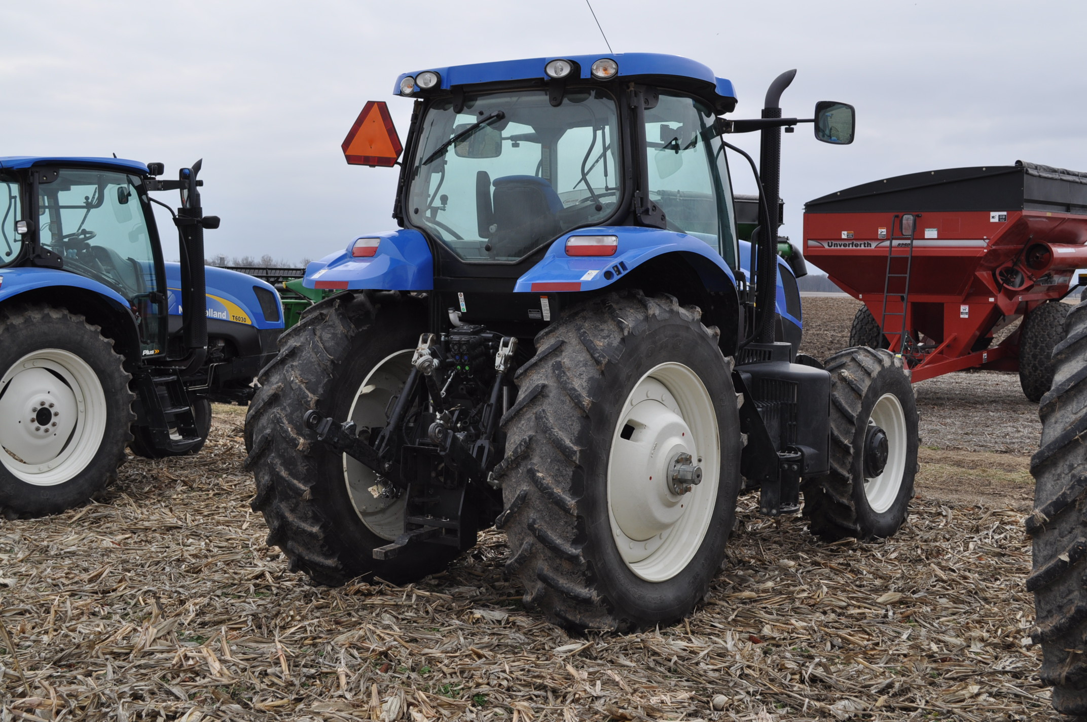 New Holland T7.210 MFWD tractor, 460/85 R 42 rear, 380/85 R 30 Firestone front, Super Steer - Image 3 of 24