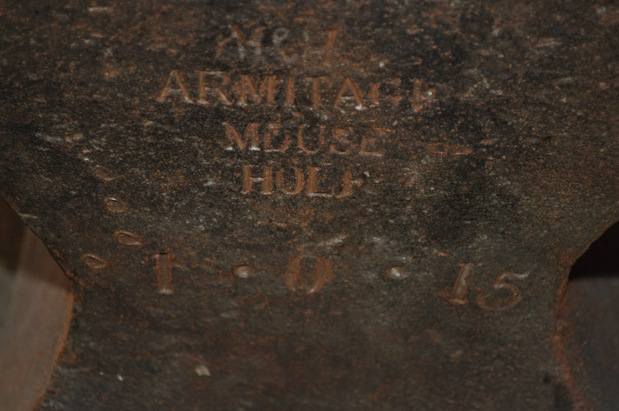 Armitage mouse hole 1•0•15 anvil - Image 2 of 3