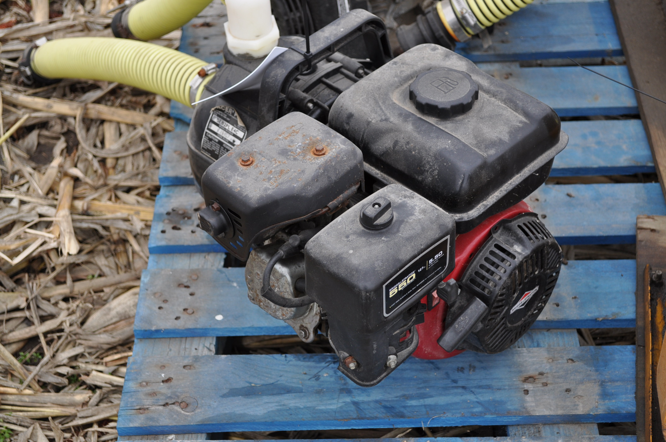 """2"""" transfer pump, Briggs and Straton, Pacer poly pump - Image 4 of 4"""