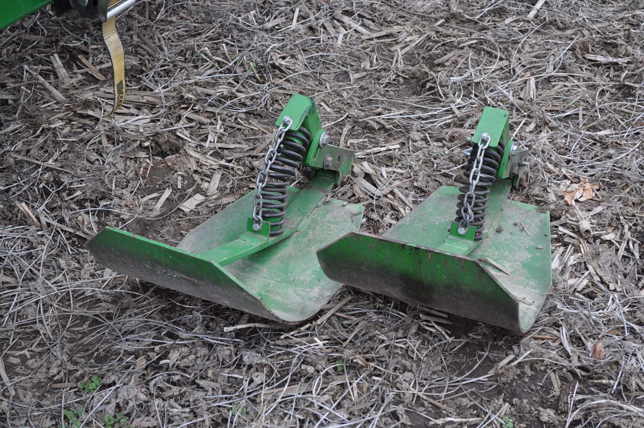 John Deere 693 corn head, poly, hyd drive, down corn reel, pto shafts, SN 655654 - Image 5 of 17