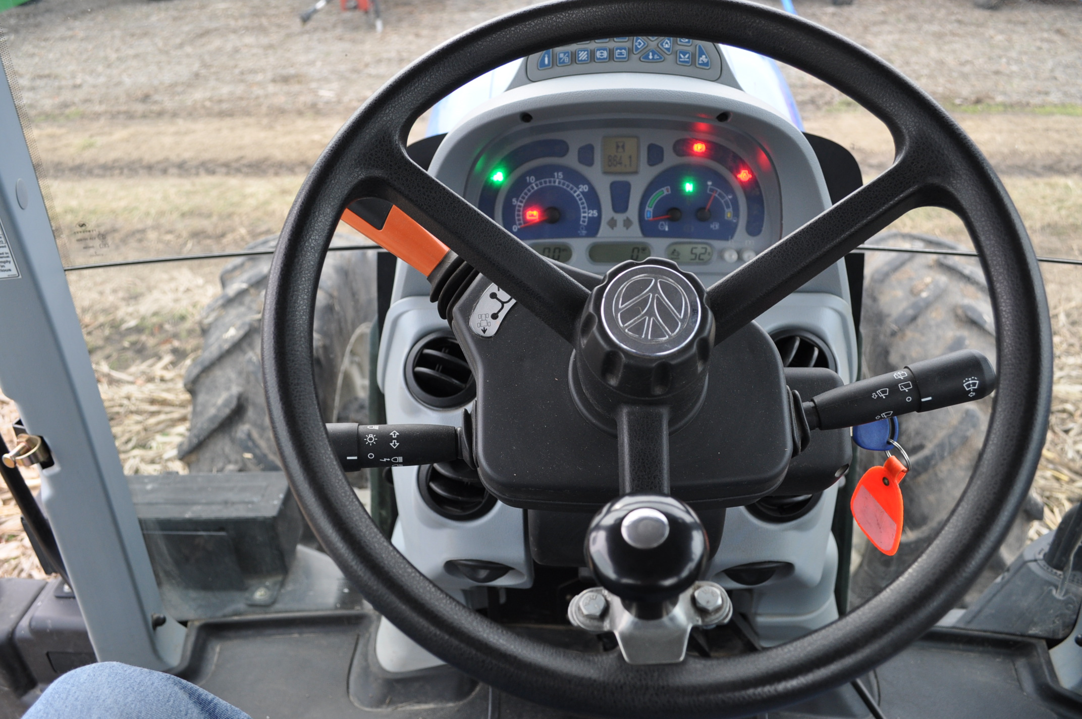 New Holland T7.210 MFWD tractor, 460/85 R 42 rear, 380/85 R 30 Firestone front, Super Steer - Image 21 of 24