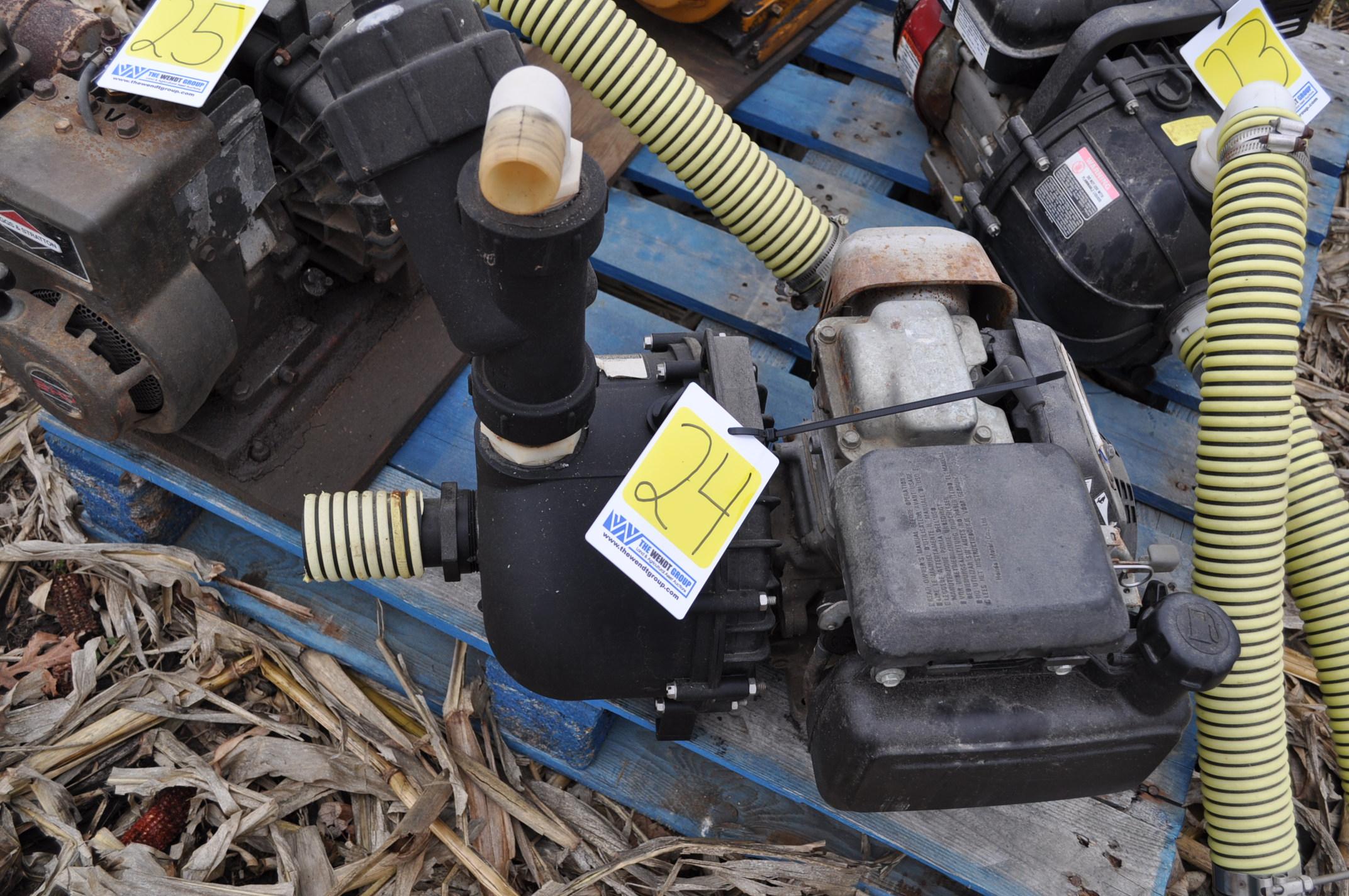 """2"""" transfer pump, Honda engine, Pacer poly pump"""