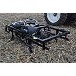 Yetter Seed Jet II air transfer seed tender, holds 2 pro boxes, Briggs & Stratton gas engine