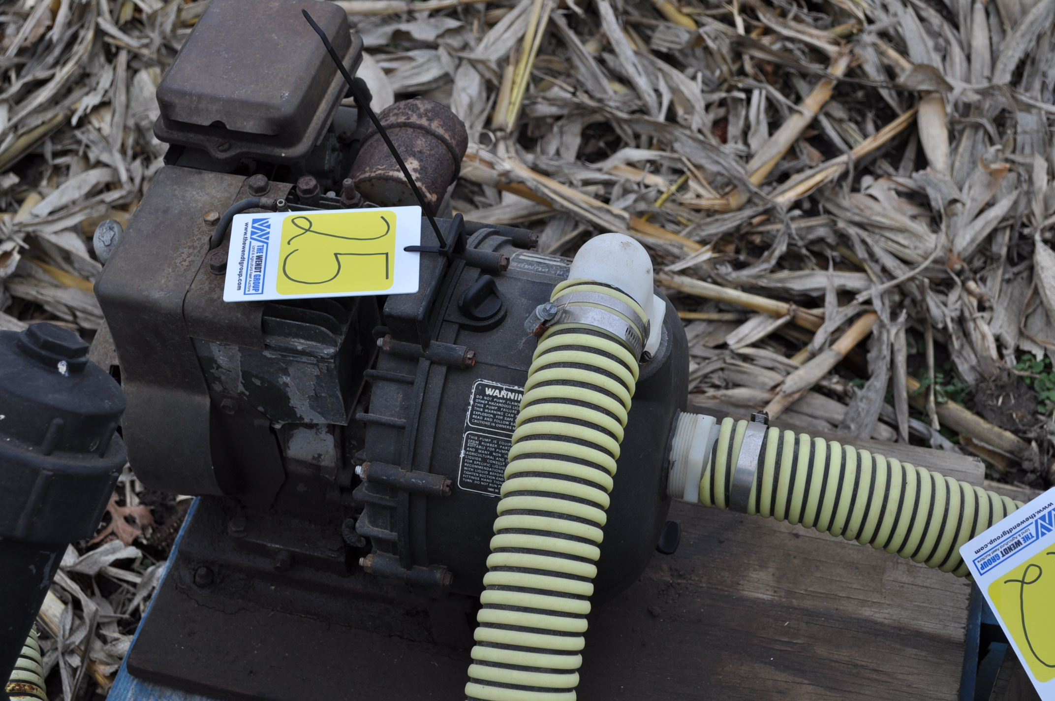 "2"" transfer pump, Briggs and Straton, Pacer poly pump - Image 3 of 3"