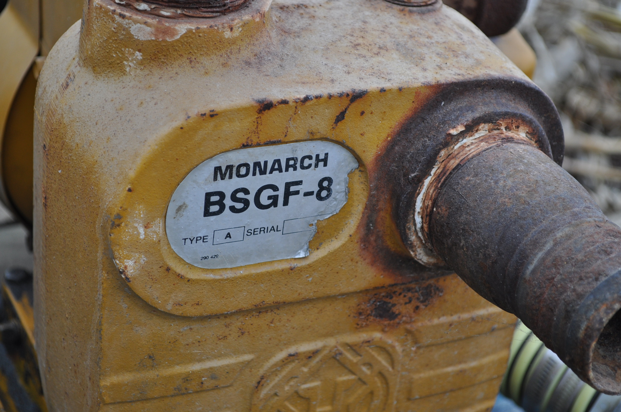 "2"" transfer pump, Briggs and Straton, BSGF-8 - Image 3 of 3"