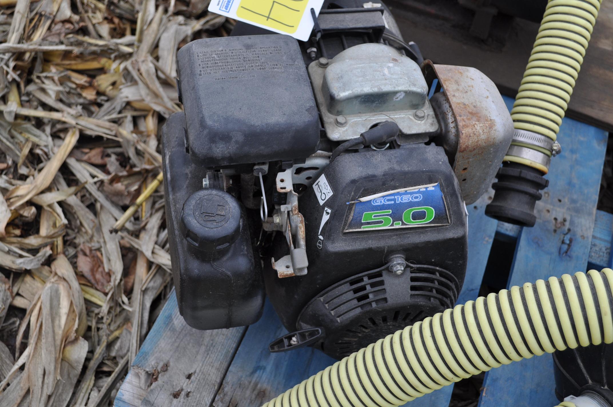 "2"" transfer pump, Honda engine, Pacer poly pump - Image 2 of 3"