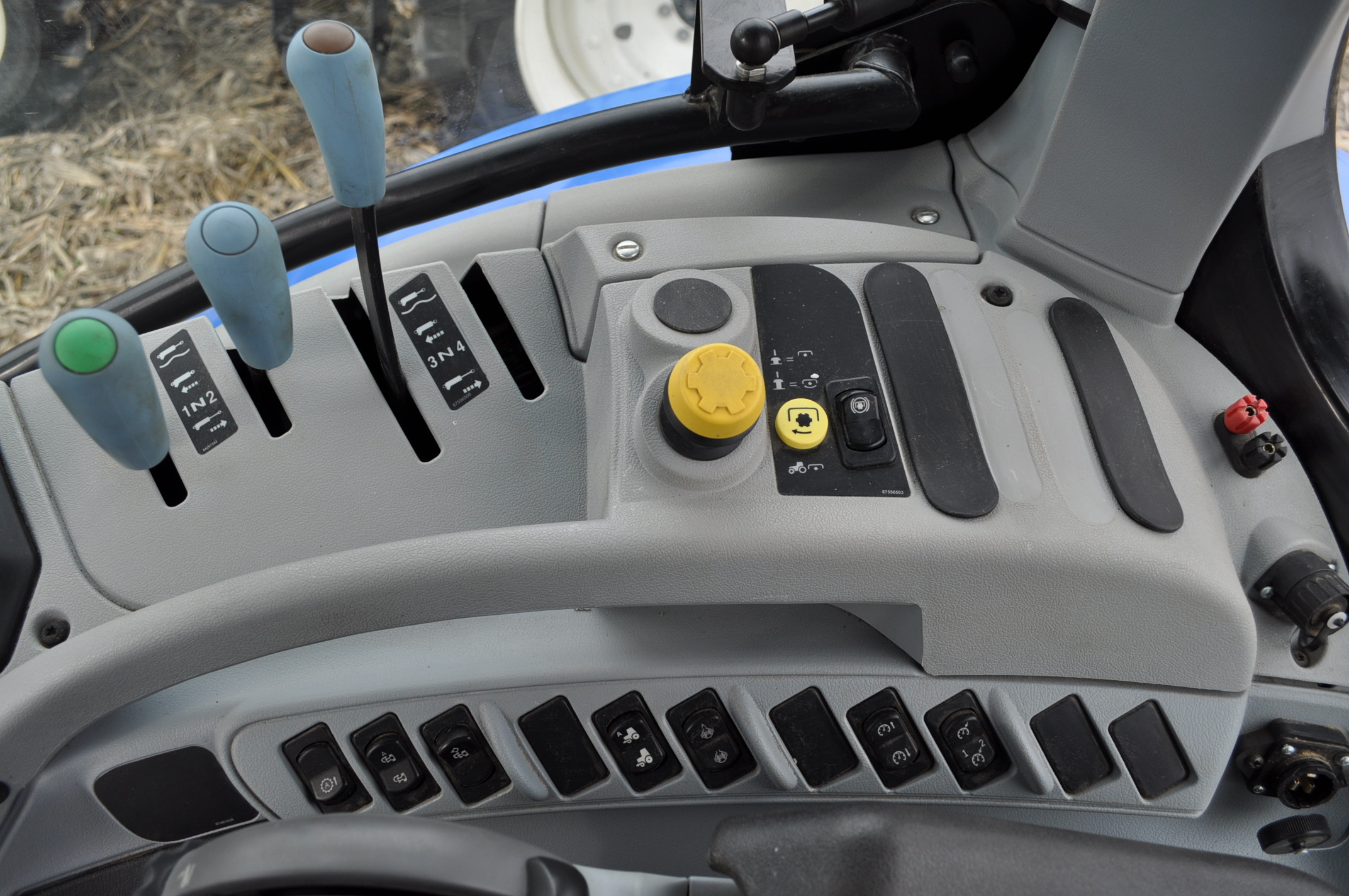New Holland T7.210 MFWD tractor, 460/85 R 42 rear, 380/85 R 30 Firestone front, Super Steer - Image 17 of 24