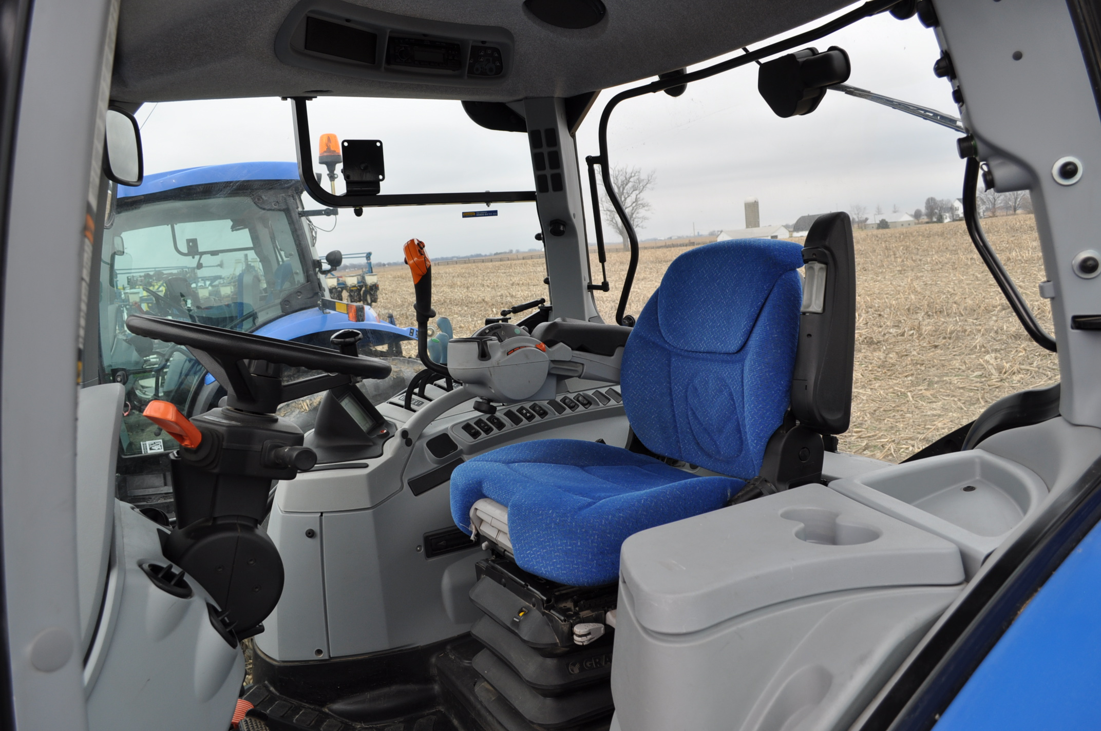 New Holland T7.210 MFWD tractor, 460/85 R 42 rear, 380/85 R 30 Firestone front, Super Steer - Image 15 of 24