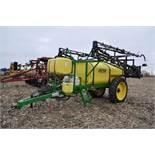60' Spray King 1090 sprayer, 1000 gal poly tank, 100 gal rinse tank, foam marker, inductor, hyd