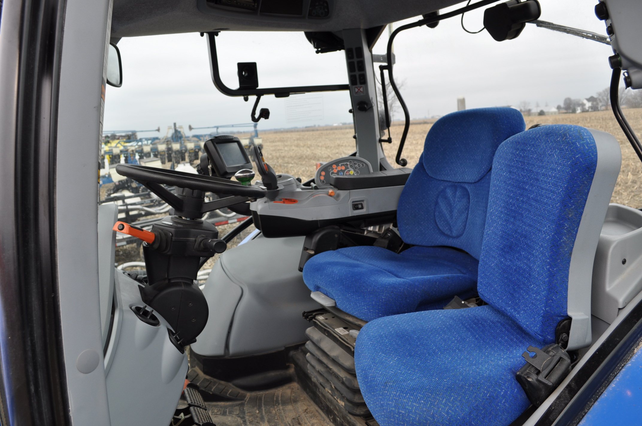 New Holland T7.250 tractor, 480/80 R 46 duals, Michelin 380/85 R 34 front, Super Steer, front wts, - Image 16 of 28