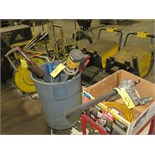 LOT CONSISTING OF electric barrel pumps, (2), manual barrel pumps (3)