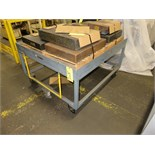 "LOT OF 4-WHEEL PALLET CARTS, 30"" (est.) overall ht. (2)"