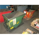 LOT OF SELF-DUMPING HOPPER, 1/3 cu. yd. cap. (2)