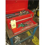 TOOL CHEST, 2-drawer, w/contents