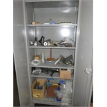 LOT OF CABINETS, w/contents (2)