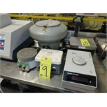 LOT OF SAFEGUARD CENTRIFUGE (1), CORNING HOT PLATE STIRRER MDL. PC351 (1), METTLER PL2000, HOT PLATE