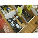 LOT OF COLLET TYPE TOOL HOLDERS, (2) boxes