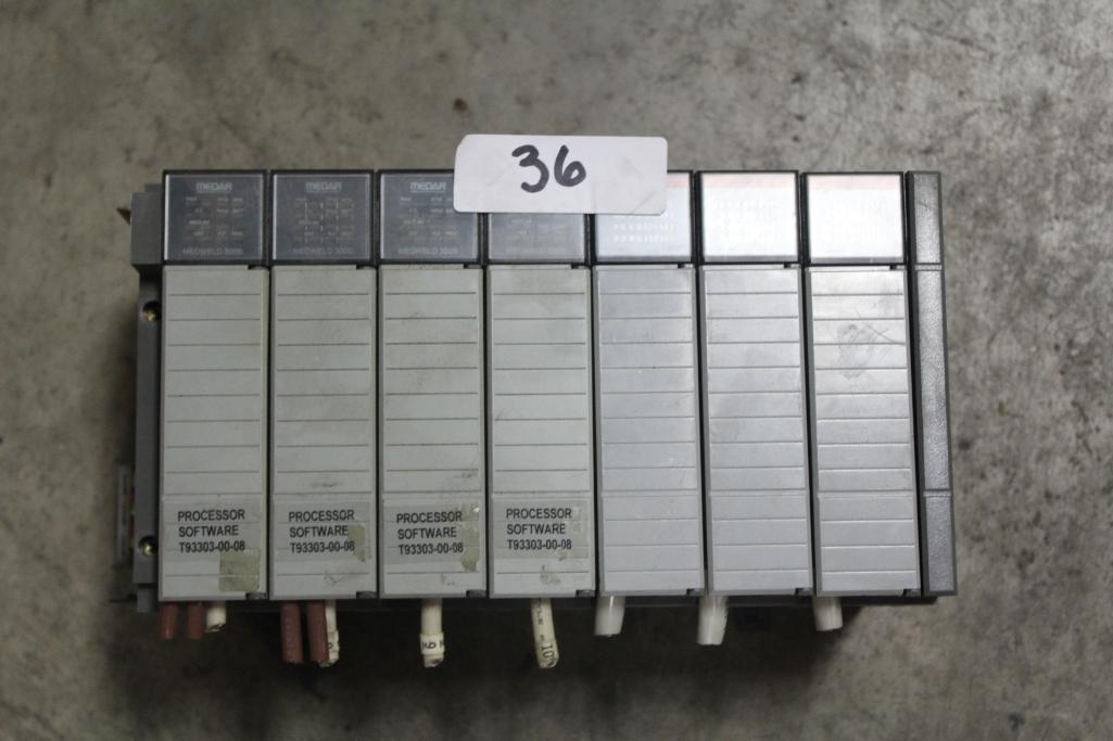 Allen-Bradley 1746-A7 Complete Rack w/ Cards
