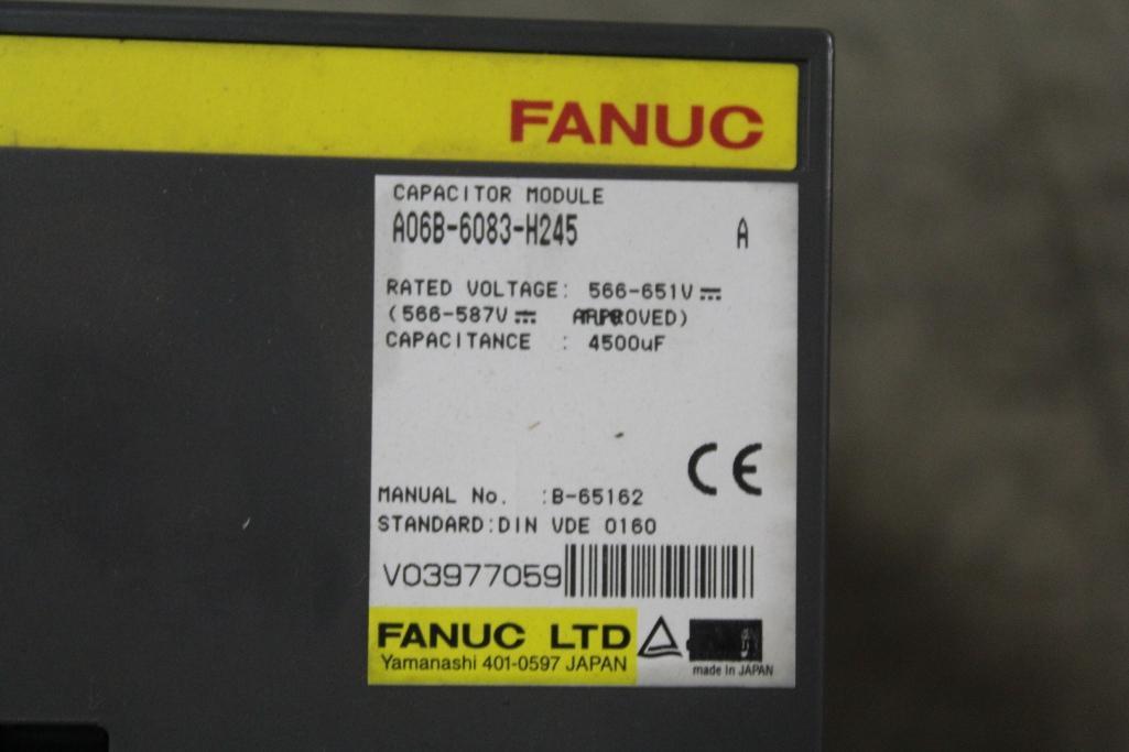 Fanuc A06B-6083-H245 Capacitor Module - Image 2 of 2