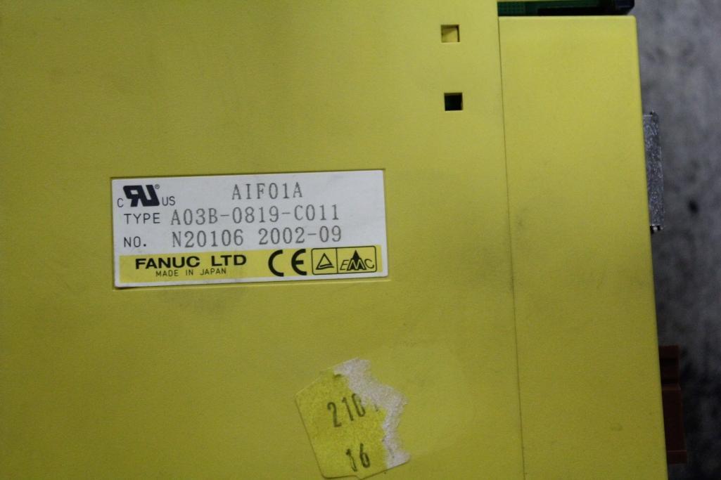 (Lot of 2) Fanuc A03B-0819-C011 Card - Image 2 of 2