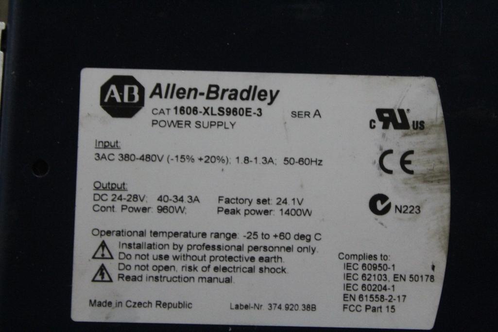 Allen-Bradley 1606-XLS960E-3 Power Supply - Image 2 of 2