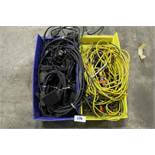Lot of AC Adapters & Connector Cables