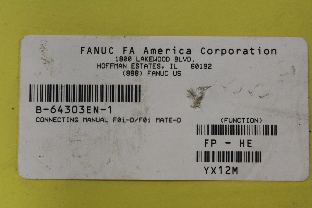 (Lot of 14) Fanuc Operating Manuals - Image 2 of 2