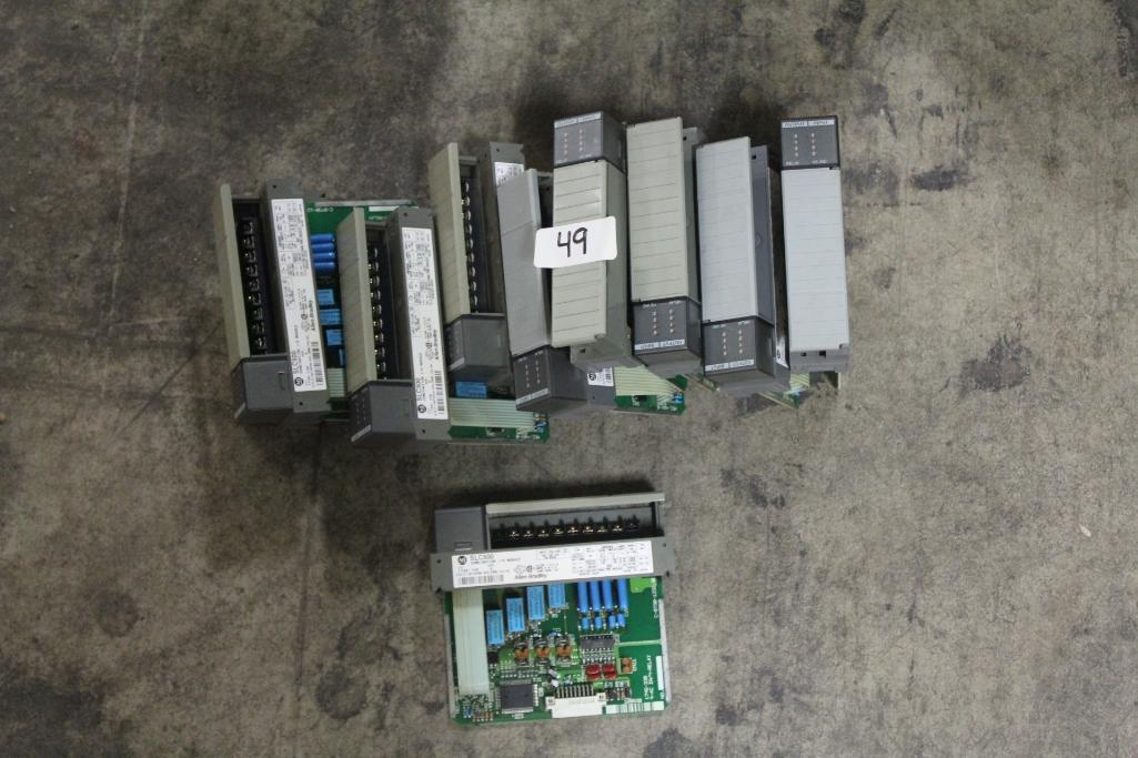 (Lot of 10) Allen-Bradley 1746-IO8 Combination Modules