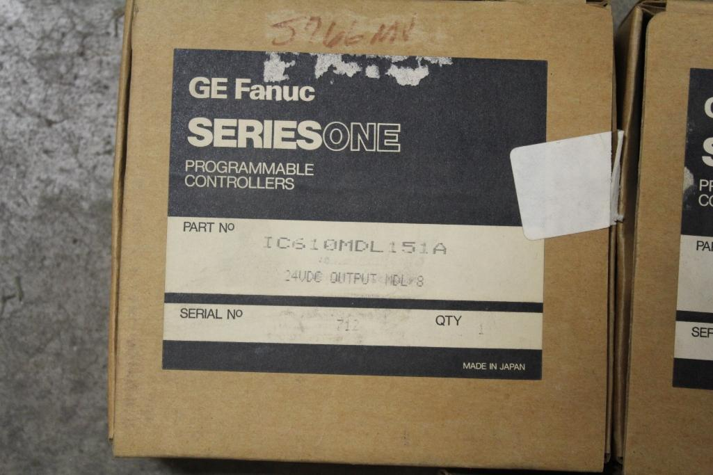 (Lot of 7) Fanuc Programmable Controllers; IC610MDL157B (4), IC610MDL151A (3) - Image 2 of 2