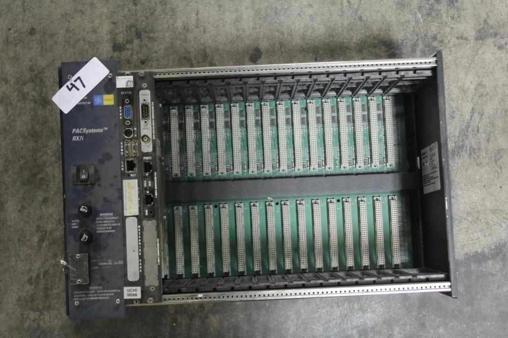 GE Fanuc IC698CHS017B Rack w/ Cards