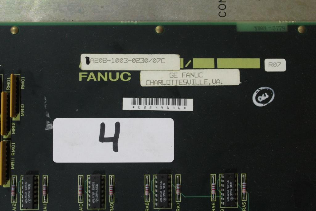 Fanuc A20B-1003-0230/07C Board - Image 4 of 4