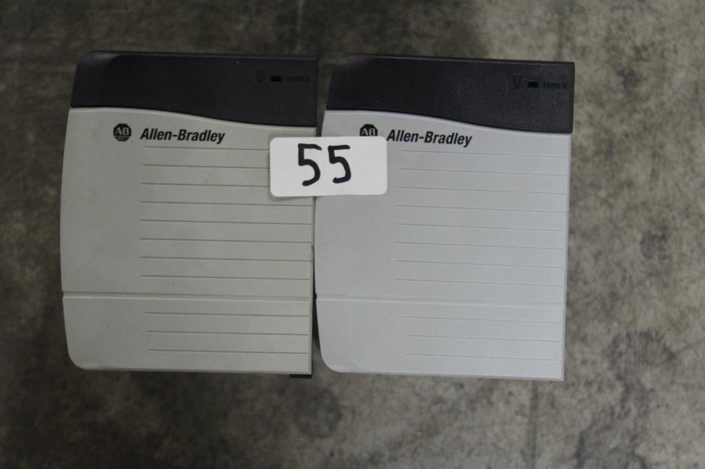 (Lot of 2) Allen-Bradley Power Supplies 1756-PB75/B & 1756-PA72/B