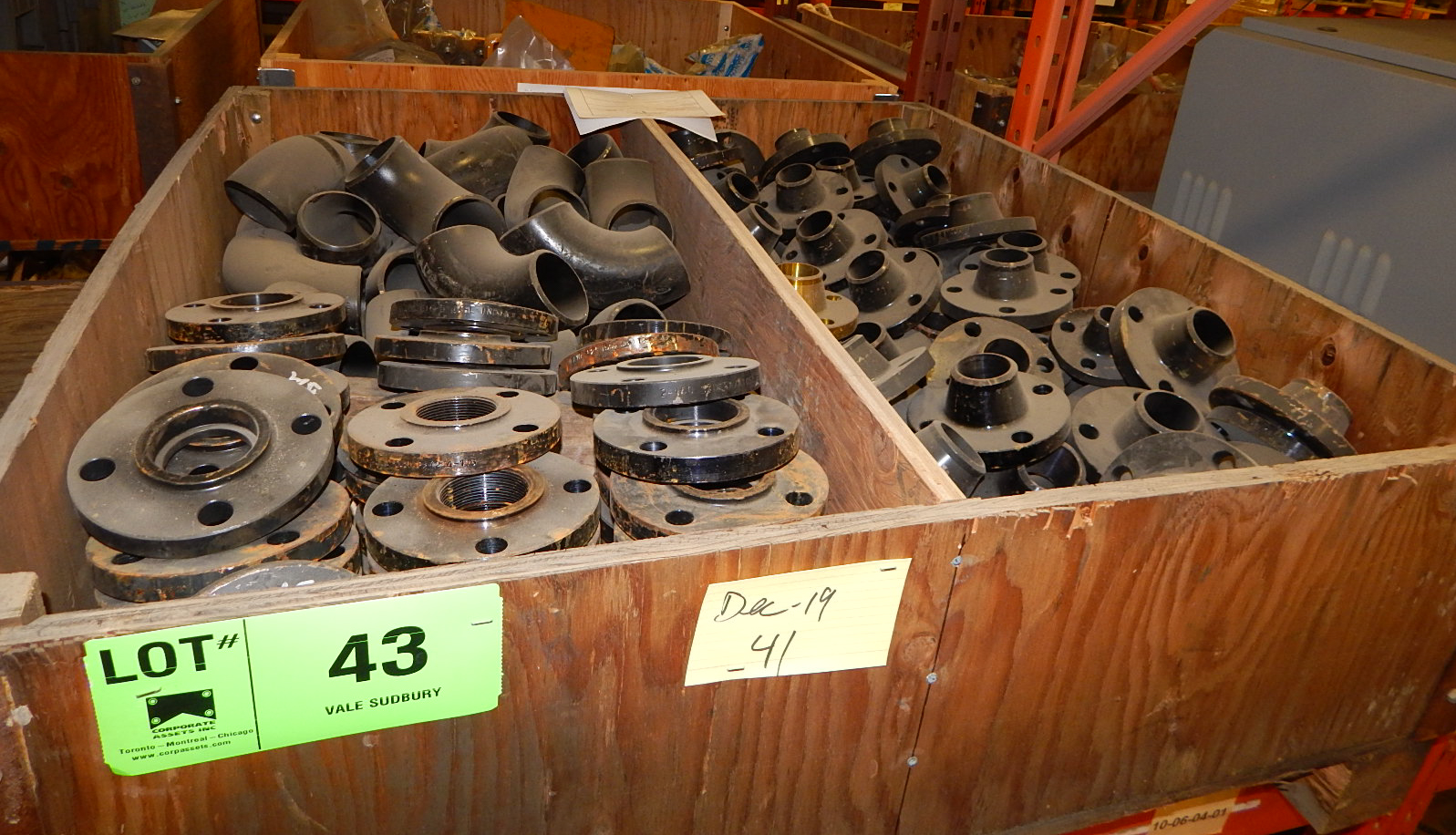 LOT/ PIPE FITTINGS (CMD)