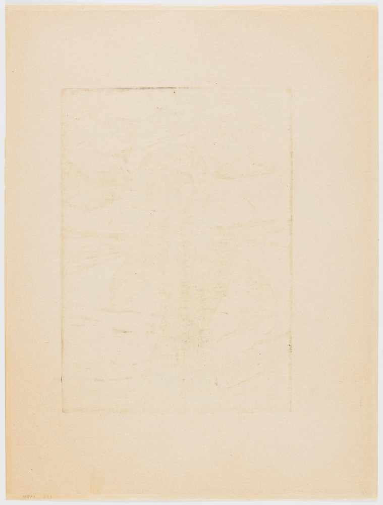 Los 20 - Heckel, Erich1883 Döbeln - 1970 RadolfzellMädchen am Meer. 1918. Woodcut on Japan. 46 x 32.5cm (70 x
