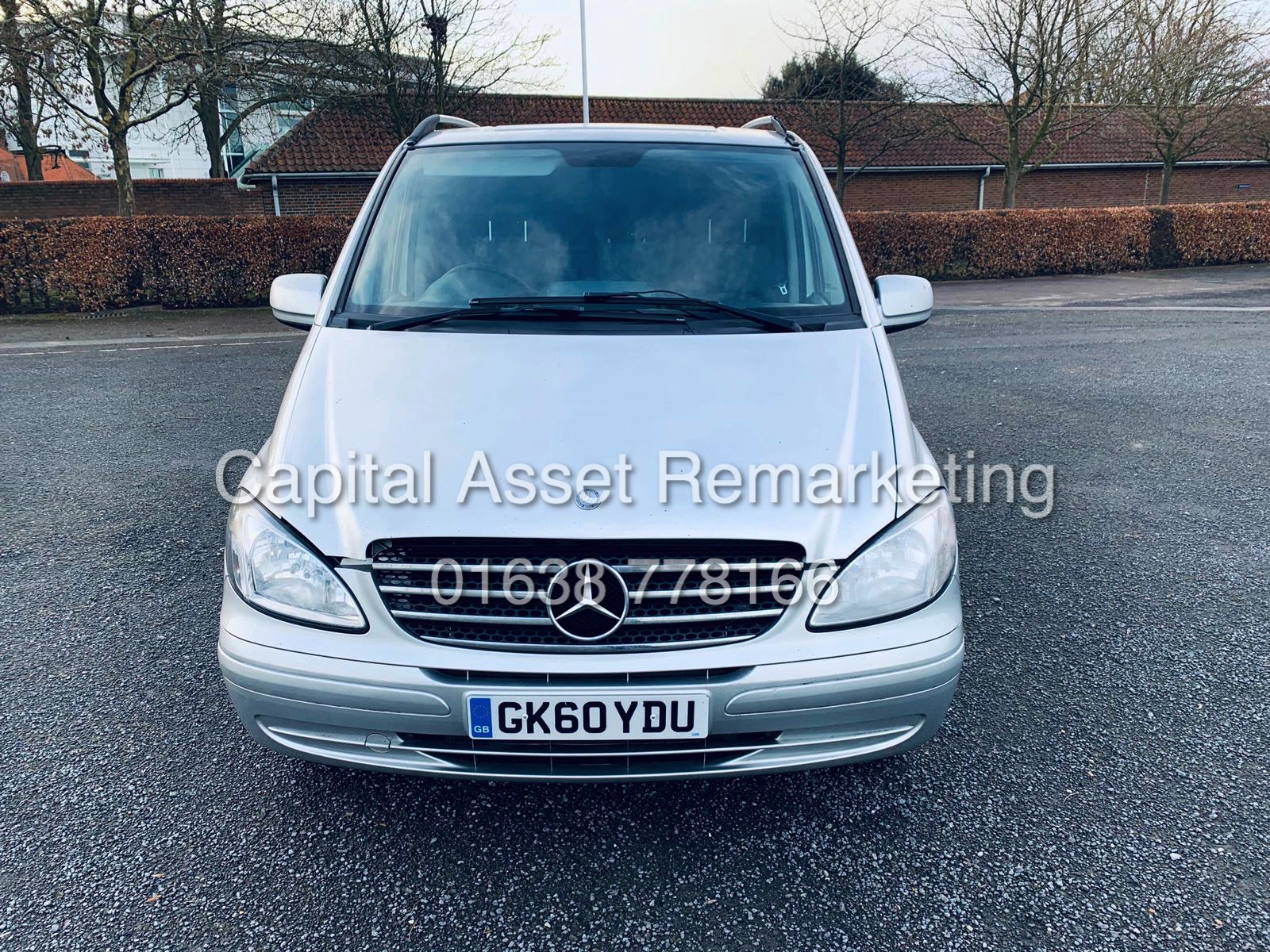 "Lot 8 - ON SALE MERCEDES VITO 115CDI ""SPORT"" (60 REG) MASSIVE SPEC - AIR CON - ELEC PACK - ALLOYS - CRUISE"