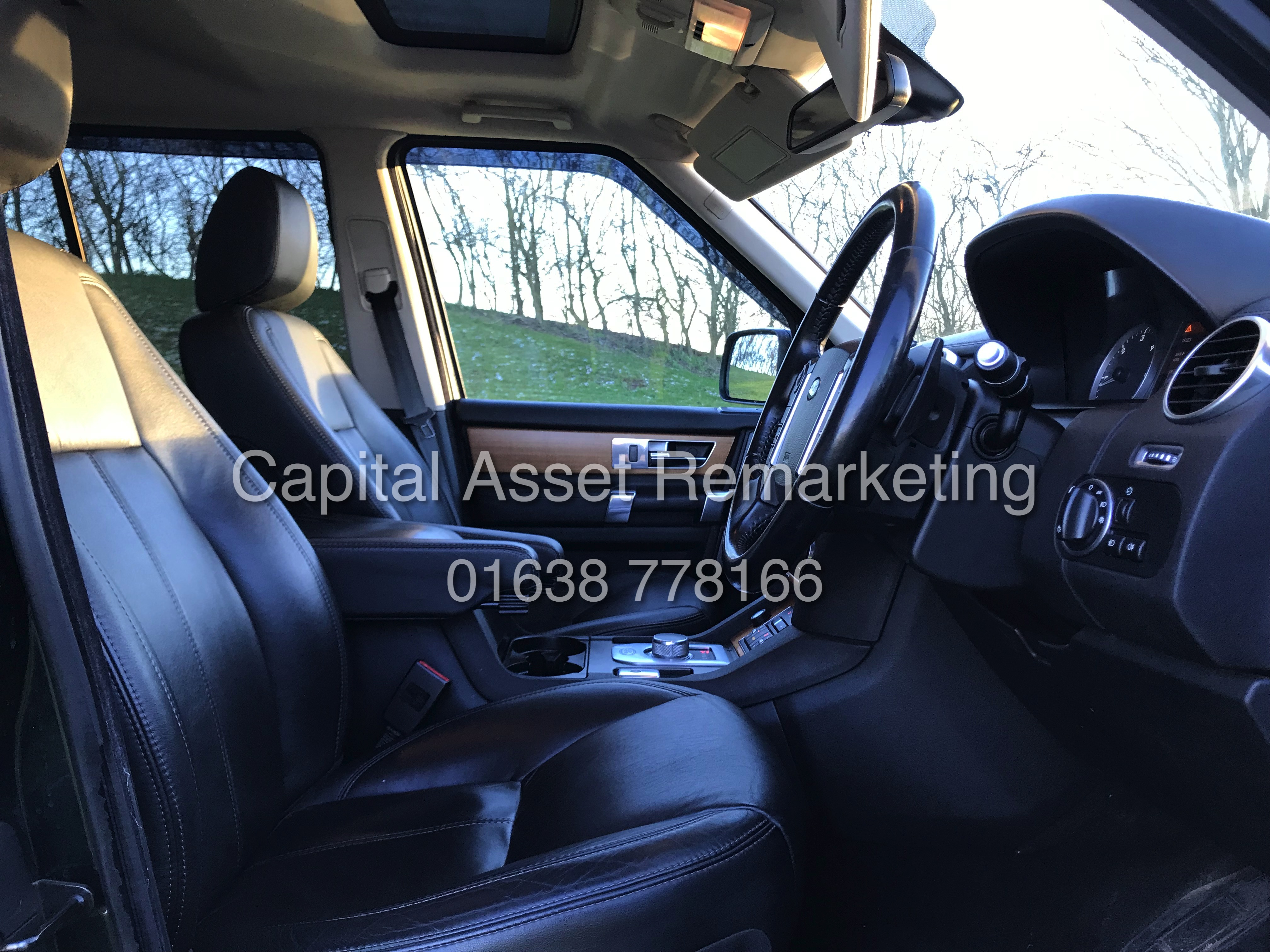 "Lot 7A - On Sale LAND ROVER DISCOVERY 4 'HSE"" 3.0 SDV6 AUTO 13 REG FULLY LOADED -SAT NAV - LEATHER -HUGE SPEC"