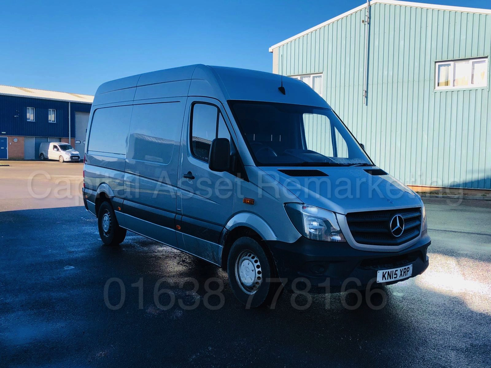 Lot 18 - (ON SALE) MERCEDES-BENZ SPRINTER 313 CDI *MWB HI-ROOF* (2015 - NEW MODEL) '130 BHP' **LOW MILES**