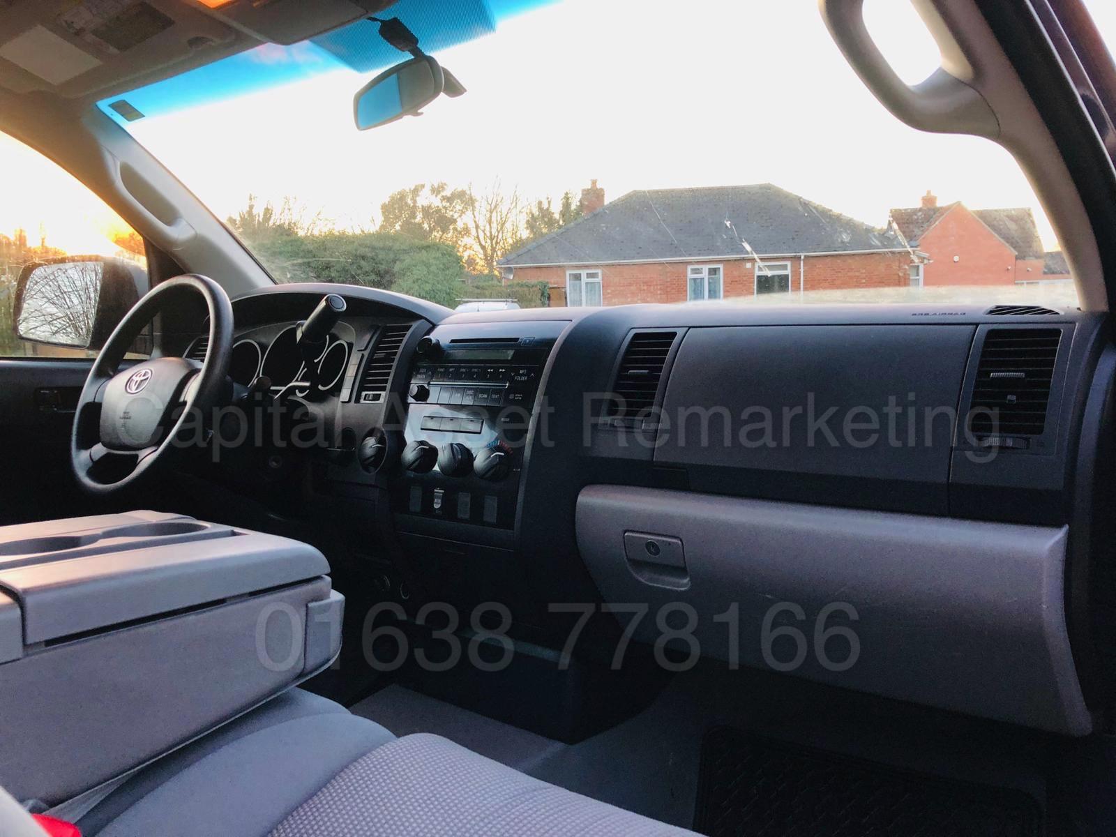 Lot 21 - TOYOTA TUNDRA *I-FORCE EDITION* SINGLE CAB PICK-UP (2008) 'V8 ENGINE - AUTOMATIC' **UK REGISTERED**