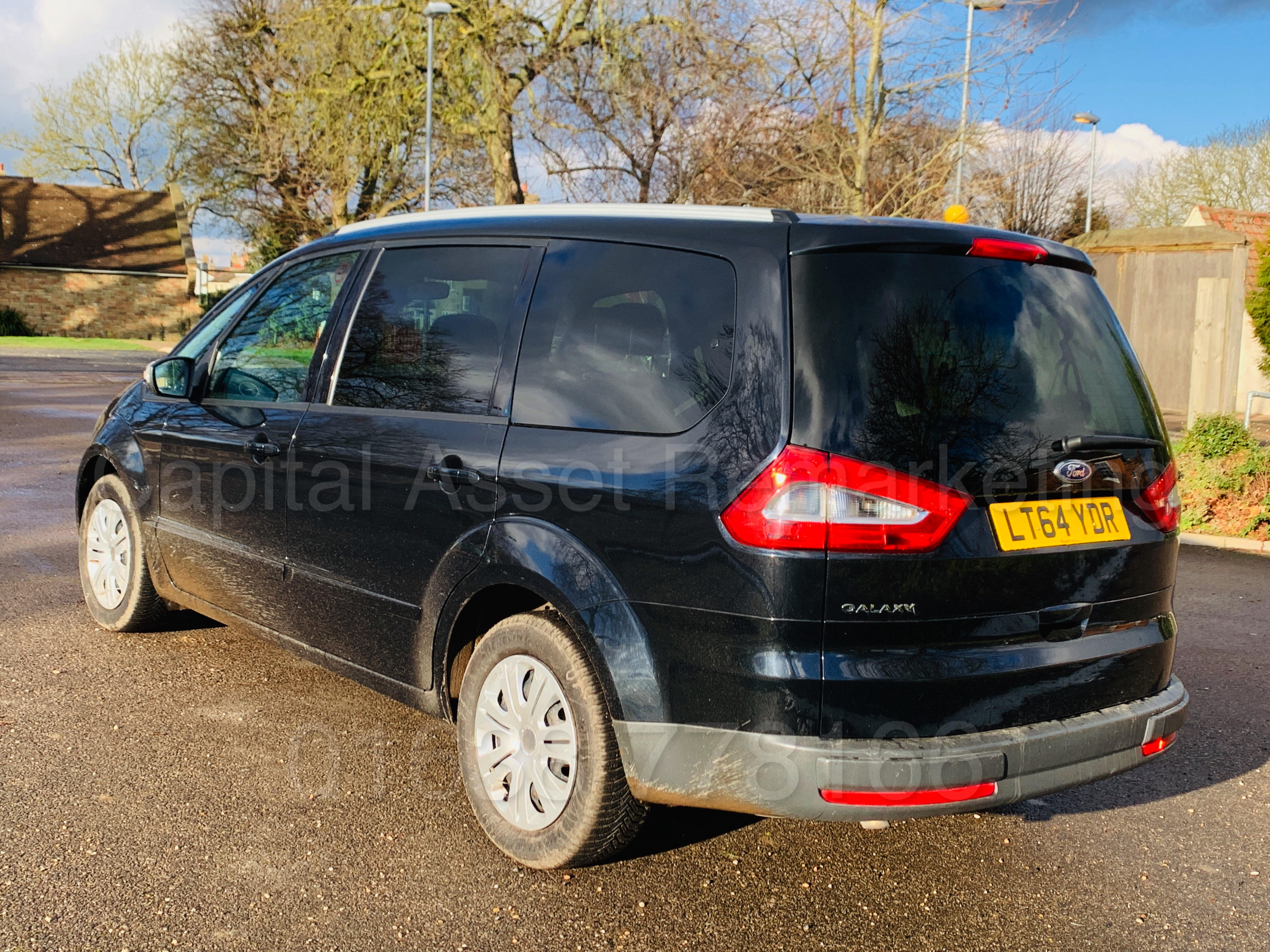 Lot 10A - FORD GALAXY **ZETEC** 7 SEATER MPV (2015 MODEL) 2.0 TDCI - 140 BHP - AUTO POWER SHIFT (1 OWNER)