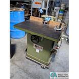 """3-HP GRIZZLY SHAPER; S/N N/A, 3"""" SPINDLE TRAVEL (8635 East Ave., Mentor, OH 44060 - John Magnasum:"""