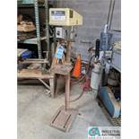 """15"""" ROCKWELL MODEL 15-091 SINGLE SPINDLE FLOOR DRILL; 10"""" X 10-1/2"""" TABLE (8635 East Ave., Mentor,"""