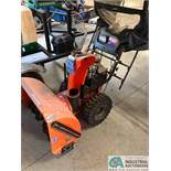 HUSQVARNA MODEL 1130SBE XP SNOW BLOWER; ELECTRIC START (5848 Vrooman Rd., Painsville, OH 44077 - Ron