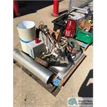 (LOT) SKID OF MAINTENANCE ITEMS: LIGHT FIXTURES, SINK, ENCLOSURE, OTHER (8635 East Ave., Mentor,