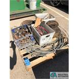 (LOT) SKID OF PARTS: CABLE, CHAIN FALL, DRAIN CLEANER WIRE (8635 East Ave., Mentor, OH 44060 -