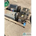 (LOT) SKID OF ELECTRICAL: (3) 20-HP MOTORS & SQUARE D ENCLOSURE (8635 East Ave., Mentor, OH