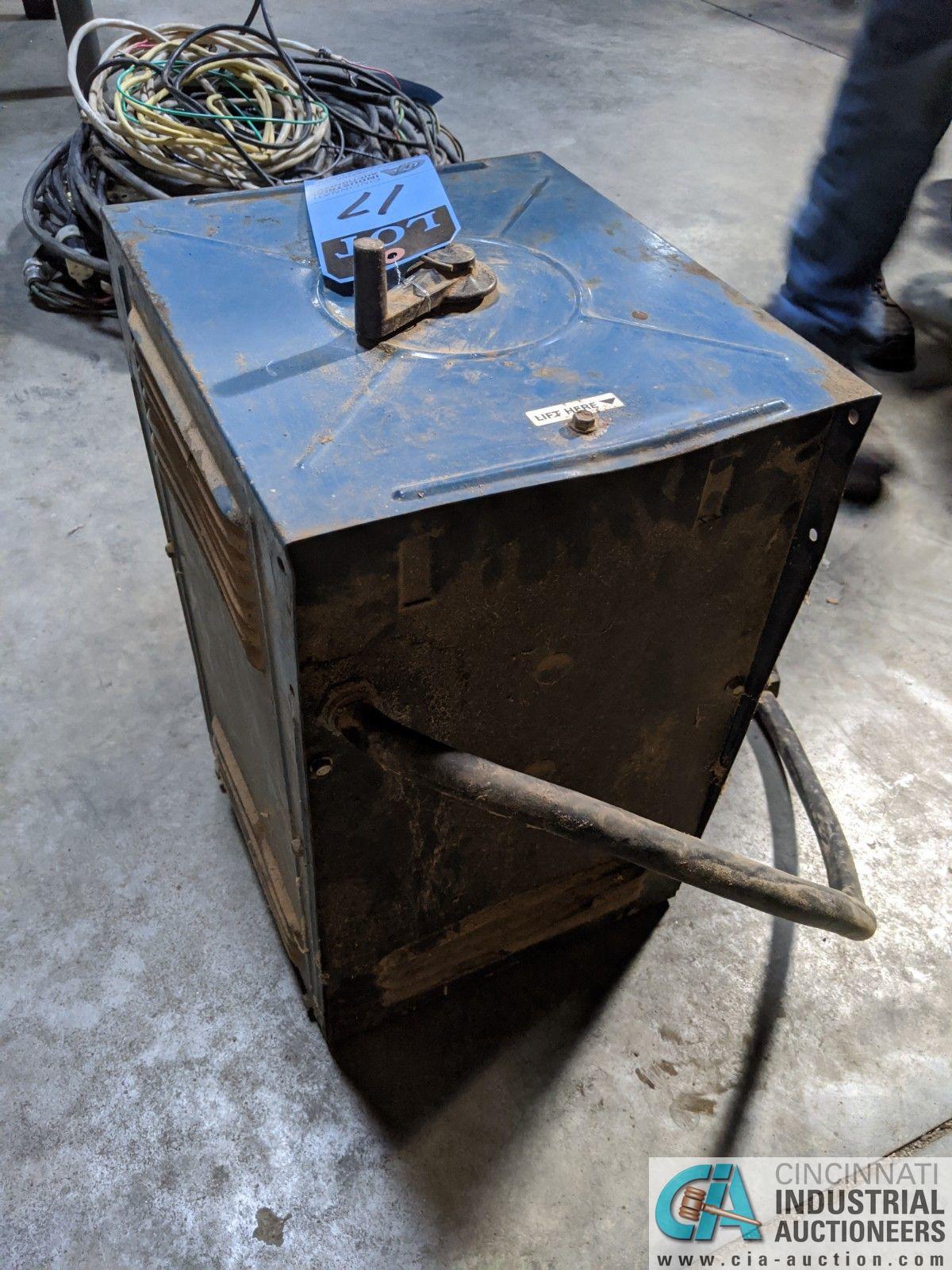 45 AMP MILLER THUNDERBOLT WELD POWER SOURCE (8635 East Ave., Mentor, OH 44060 - John Magnasum: 440- - Image 3 of 3