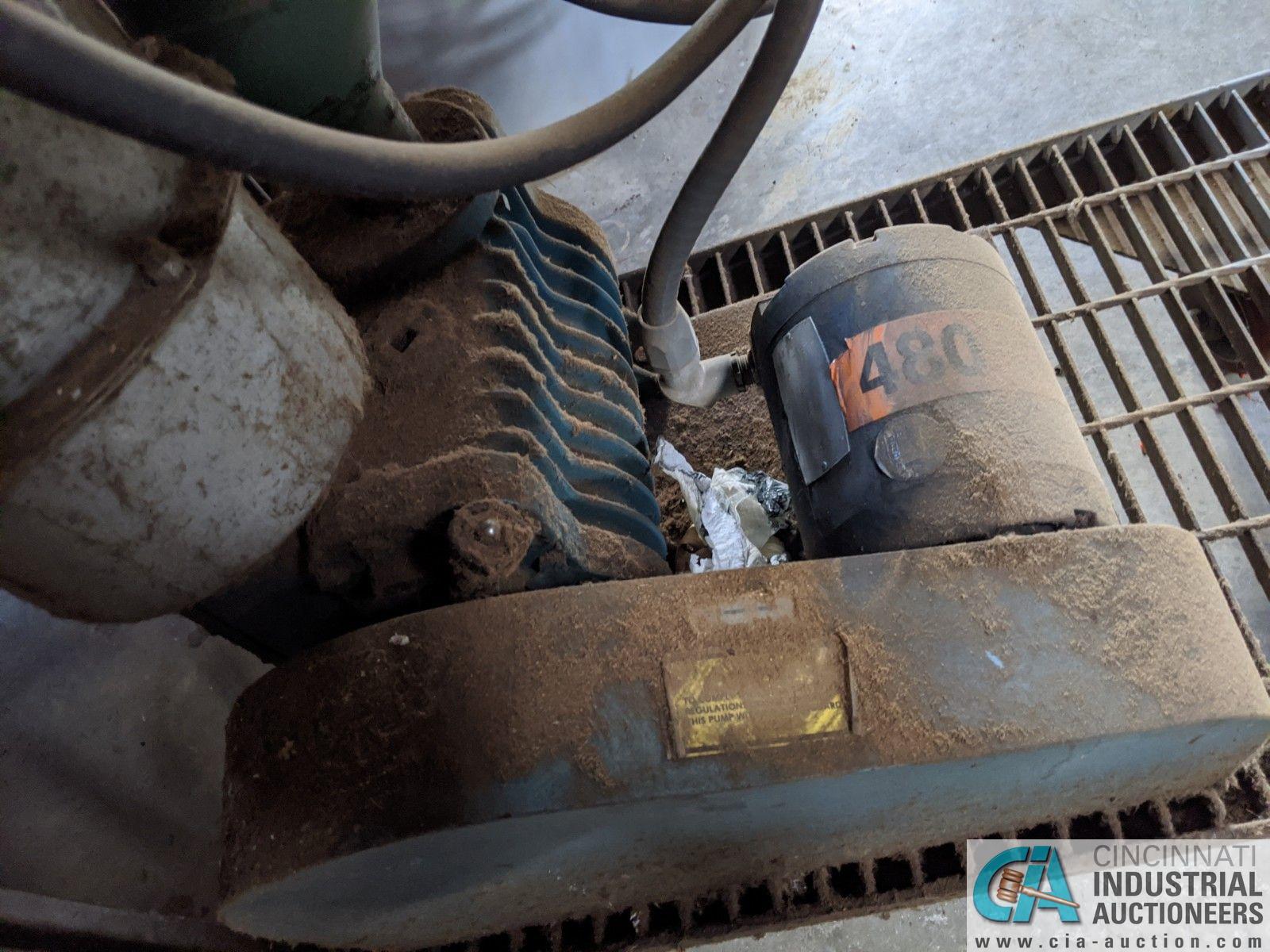 3-HP KINNEY VACUUM PUMP (8635 East Ave., Mentor, OH 44060 - John Magnasum: 440-667-9414) - Image 5 of 5