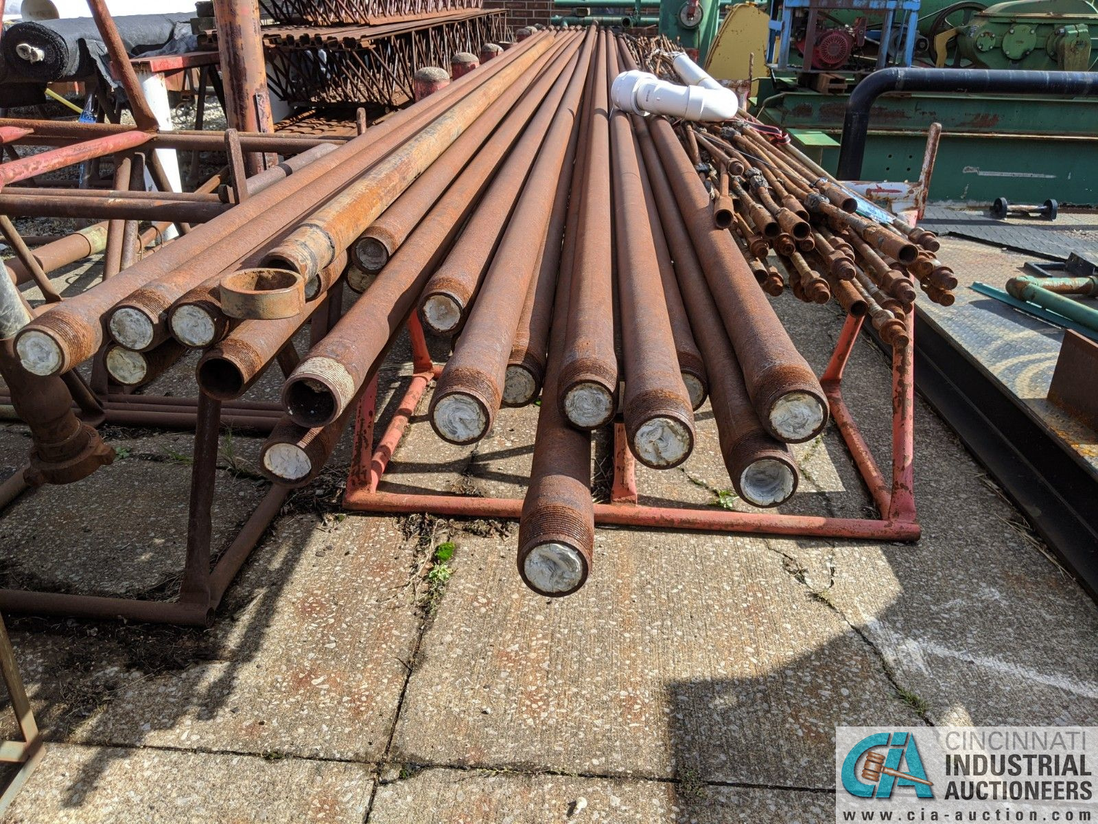 """(LOT) ASSORTED PUMP ROD; 2-1/2"""" STEEL PIPE & 15' STEEL (8635 East Ave., Mentor, OH 44060 - John - Image 2 of 2"""